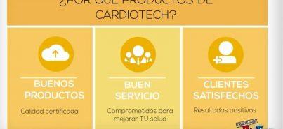 Cardiotech y sus productos